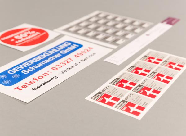 Aufkleber Sticker